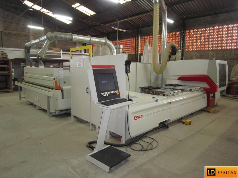 Centro de Usinagem e Furação - CNC Italiano SCM Tech Z1 - Automatico