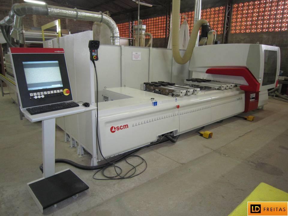 Centro de Usinagem e Furação - CNC Italiano SCM Tech Z1 - Automatico3