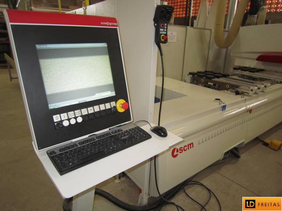Centro de Usinagem e Furação - CNC Italiano SCM Tech Z1 - Automatico4
