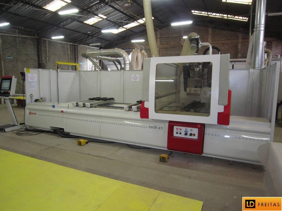 Centro de Usinagem e Furação - CNC Italiano SCM Tech Z1 - Automatico5