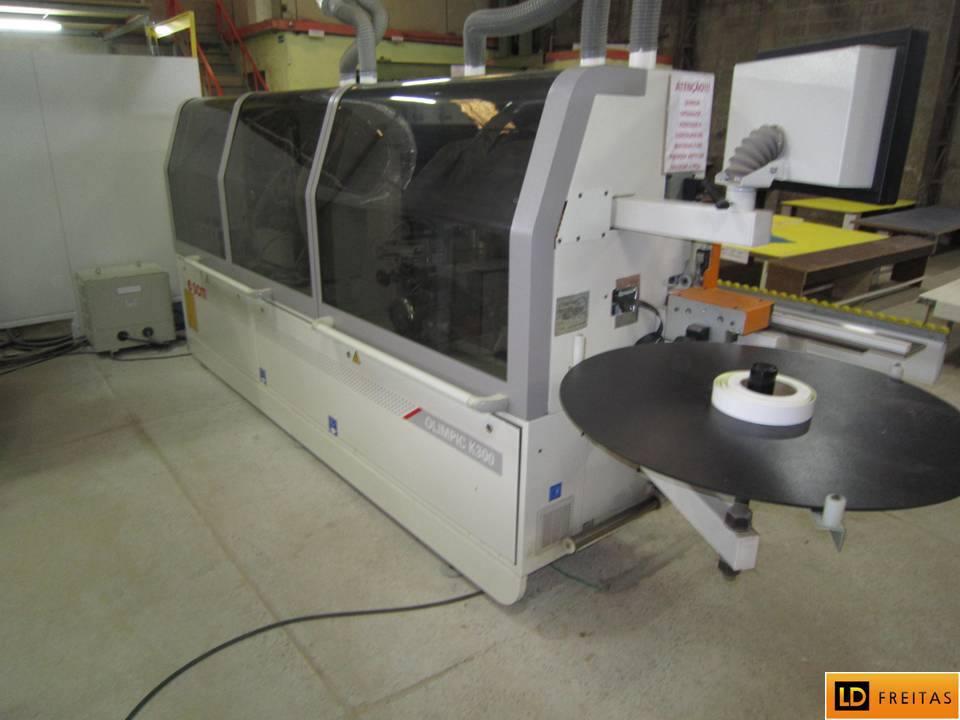 Sistema de Colagem - Coladeira Italiana SCM K300 Olimpic - Automatico2